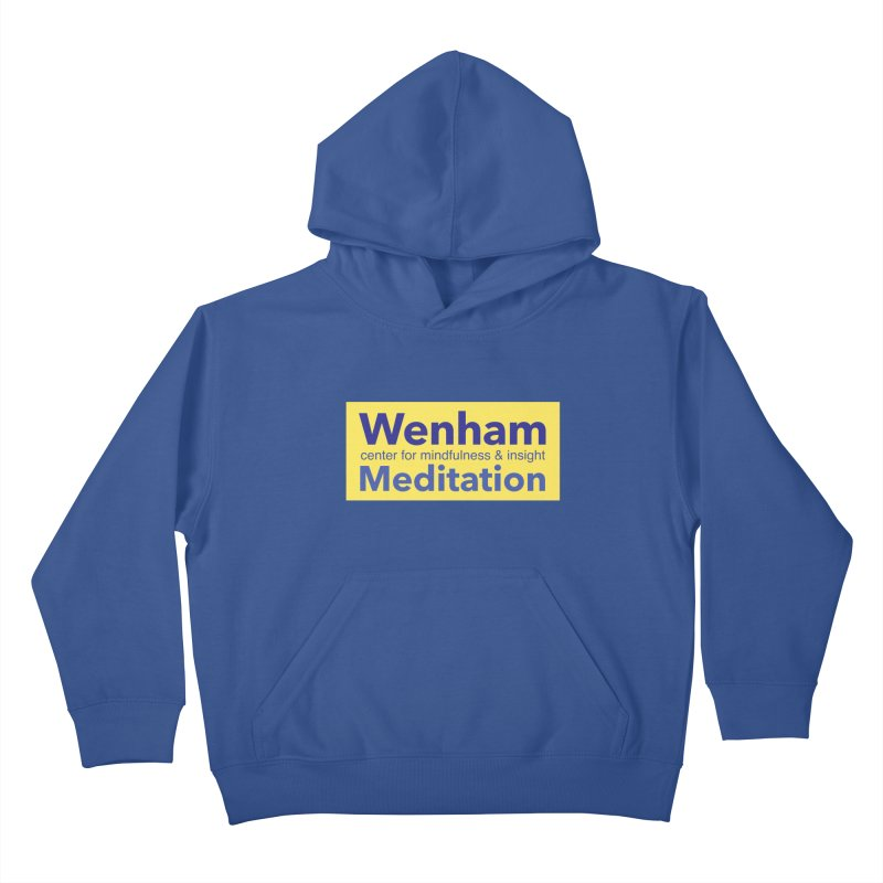 Wenham Wear 1 Kids Pullover Hoody by Redding Meditation's Artist Shop