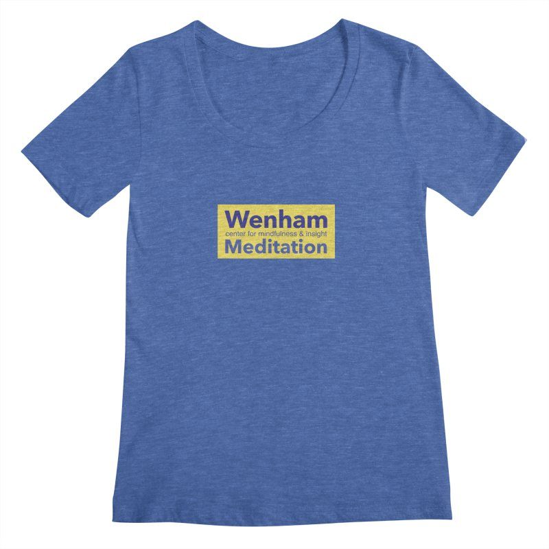 Wenham Wear 1 Women's Scoopneck by reddingmeditation's Artist Shop