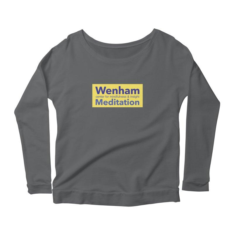Wenham Wear 1 Women's Scoop Neck Longsleeve T-Shirt by reddingmeditation's Artist Shop