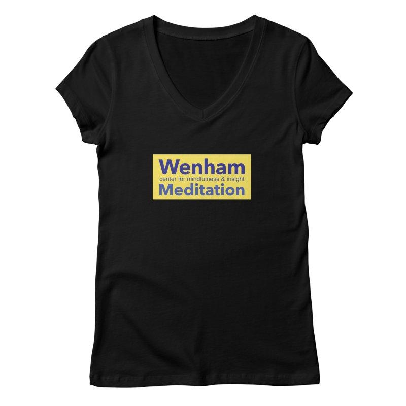Wenham Wear 1 Women's Regular V-Neck by Redding Meditation's Artist Shop