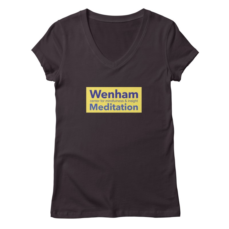 Wenham Wear 1 Women's V-Neck by reddingmeditation's Artist Shop