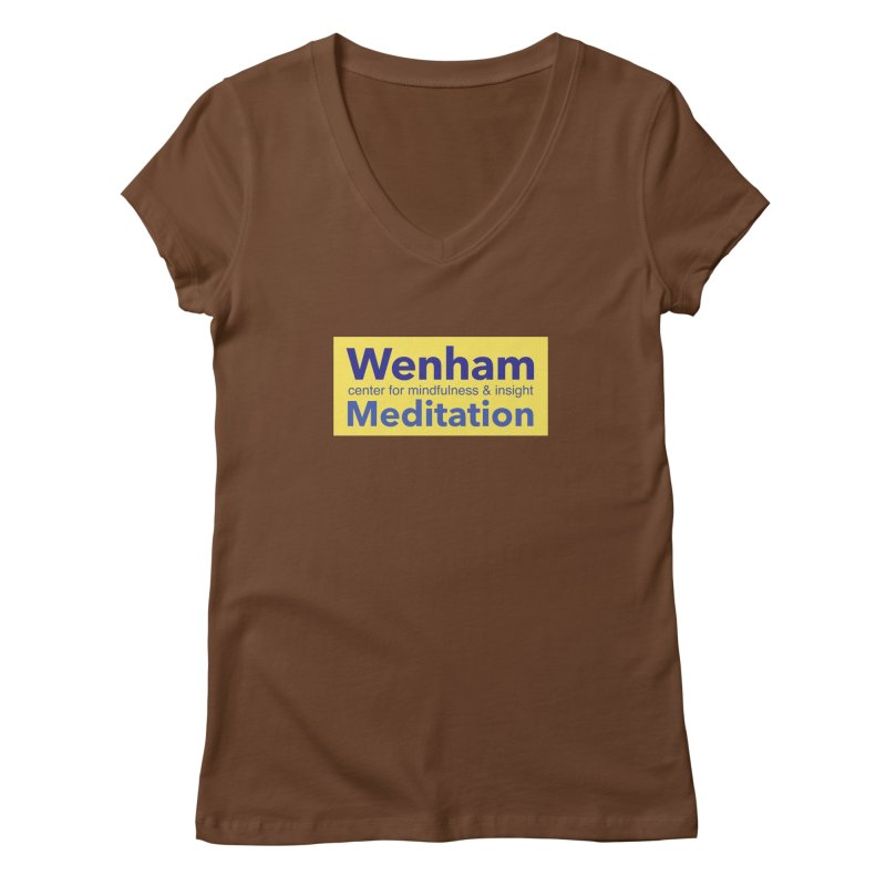 Wenham Wear 1 Women's V-Neck by reddingmeditation's Artist Shop