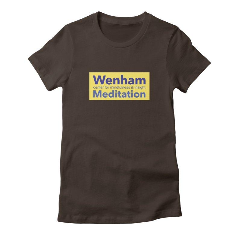 Wenham Wear 1 Women's Fitted T-Shirt by reddingmeditation's Artist Shop
