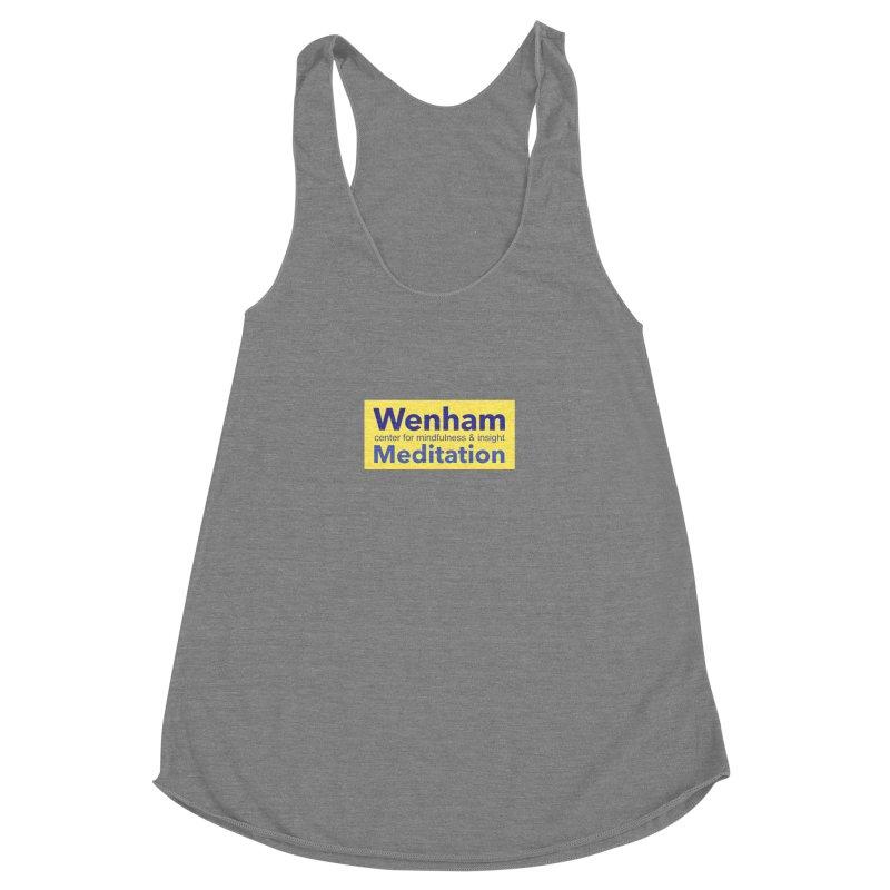 Wenham Wear 1 Women's Racerback Triblend Tank by Redding Meditation's Artist Shop
