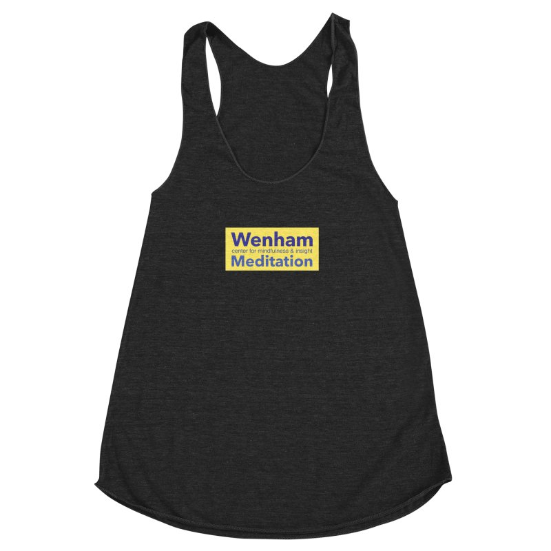 Wenham Wear 1 Women's Racerback Triblend Tank by reddingmeditation's Artist Shop