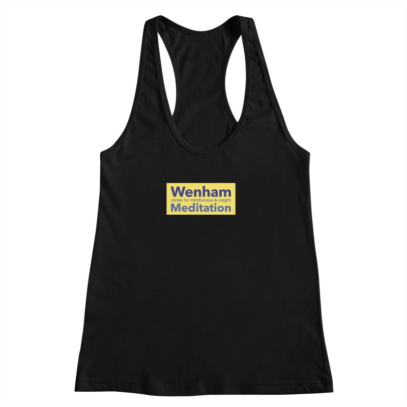 Wenham Wear 1 Women's Racerback Tank by reddingmeditation's Artist Shop