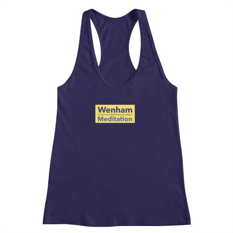 Wenham Wear 1 Women's Racerback Tank by reddingmeditation's Artist Shop