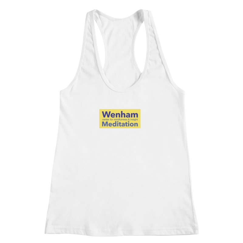 Wenham Wear 1 Women's Racerback Tank by Redding Meditation's Artist Shop