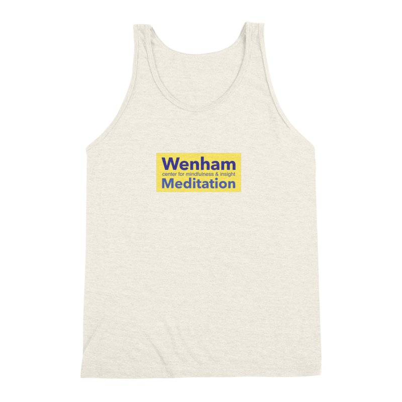 Wenham Wear 1 Men's Triblend Tank by reddingmeditation's Artist Shop