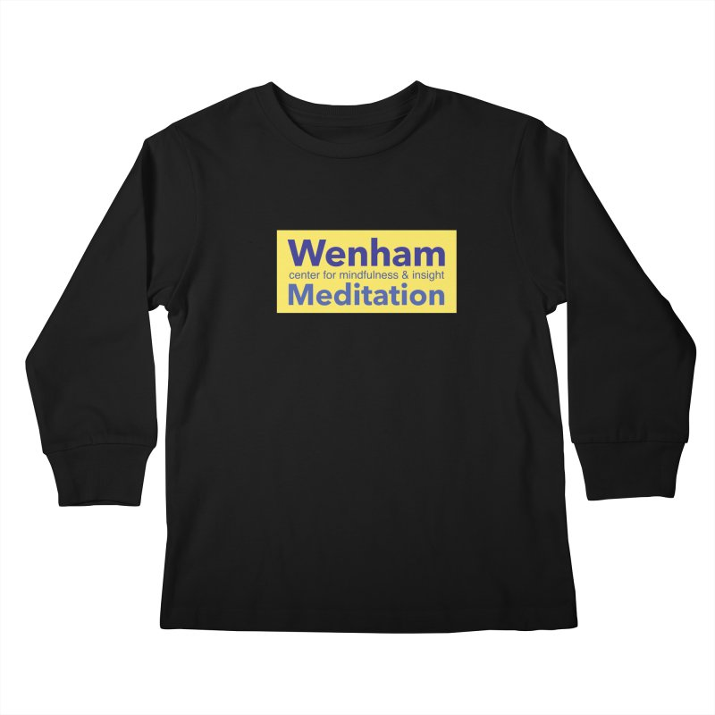 Wenham Wear 1 Kids Longsleeve T-Shirt by Redding Meditation's Artist Shop