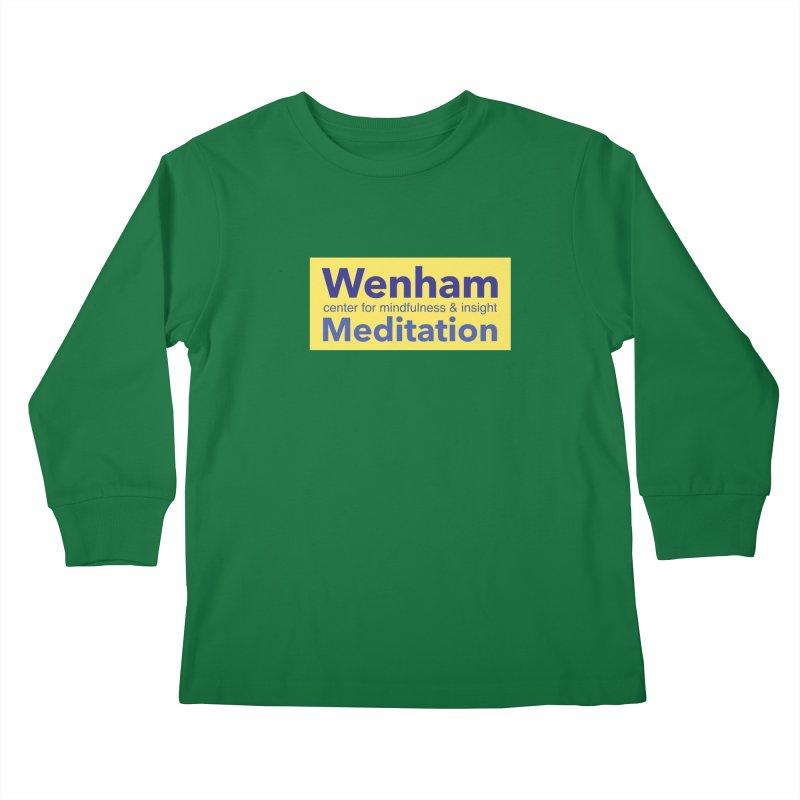 Wenham Wear 1 Kids Longsleeve T-Shirt by reddingmeditation's Artist Shop