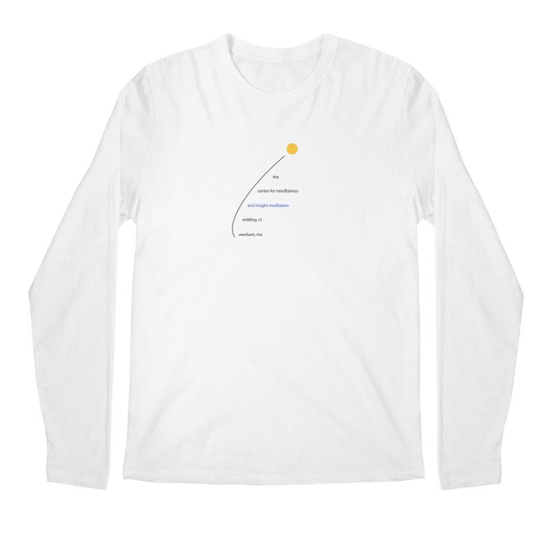 Swoosh Men's Regular Longsleeve T-Shirt by reddingmeditation's Artist Shop