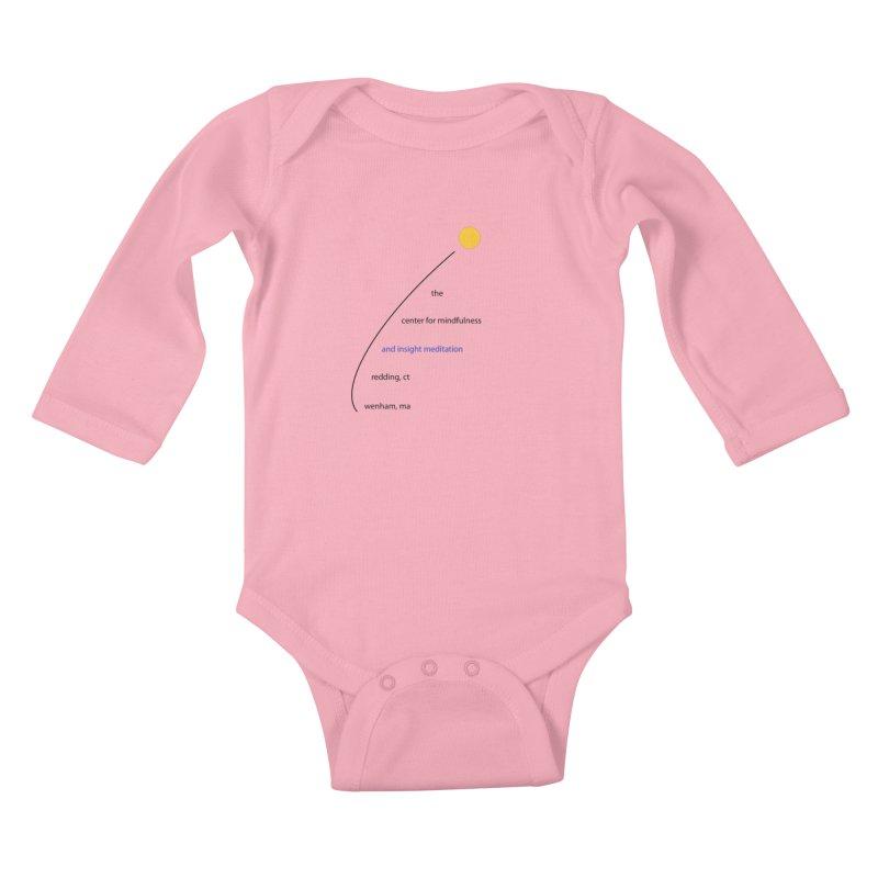 Swoosh Kids Baby Longsleeve Bodysuit by reddingmeditation's Artist Shop