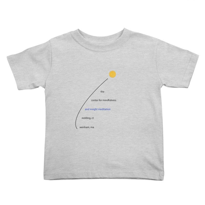 Swoosh Kids Toddler T-Shirt by Redding Meditation's Artist Shop