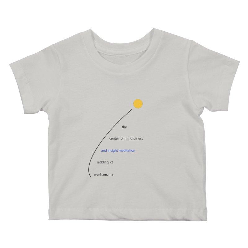 Swoosh Kids Baby T-Shirt by reddingmeditation's Artist Shop