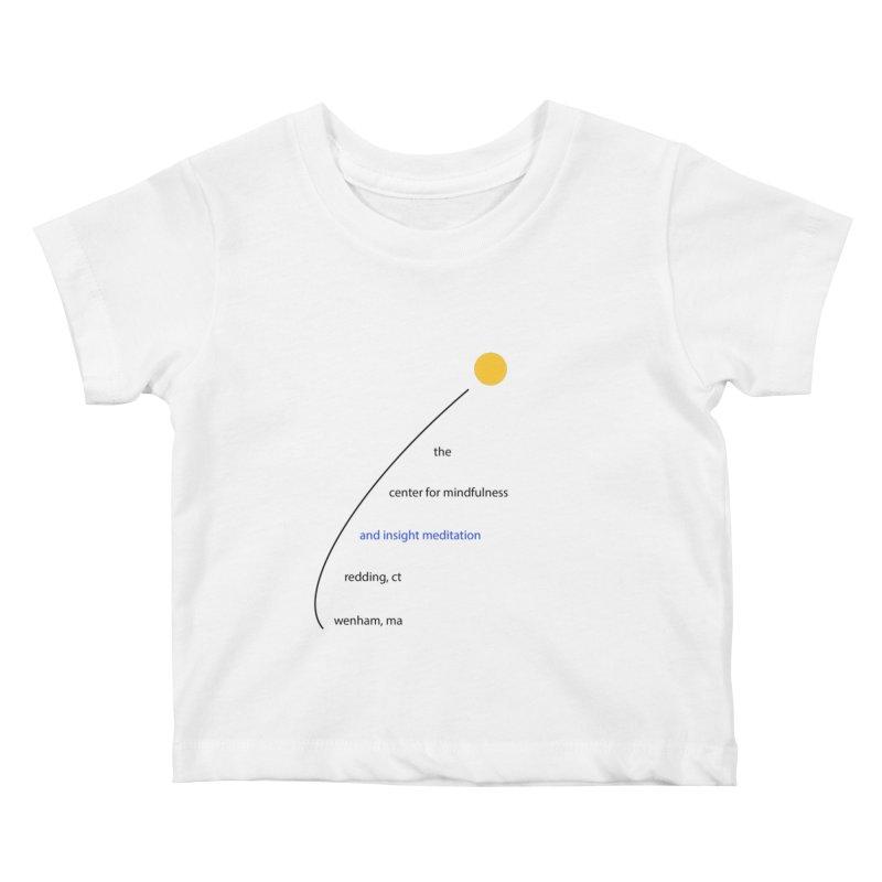 Swoosh Kids Baby T-Shirt by Redding Meditation's Artist Shop