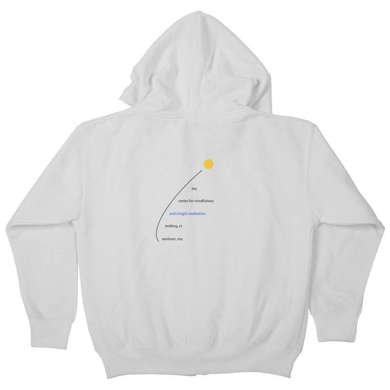 Swoosh Kids Zip-Up Hoody by reddingmeditation's Artist Shop
