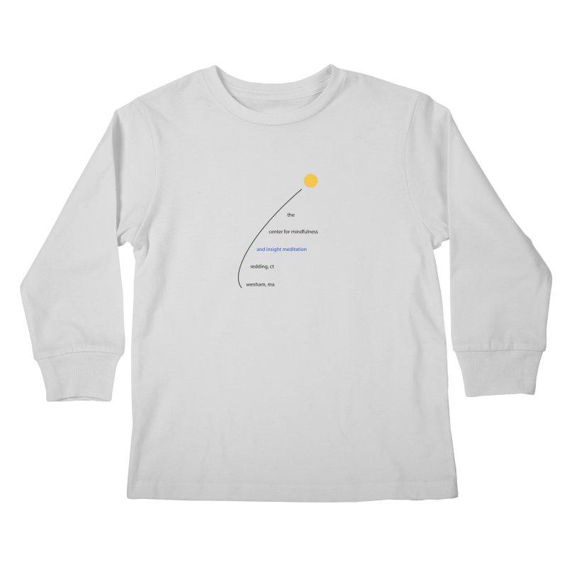Swoosh Kids Longsleeve T-Shirt by reddingmeditation's Artist Shop