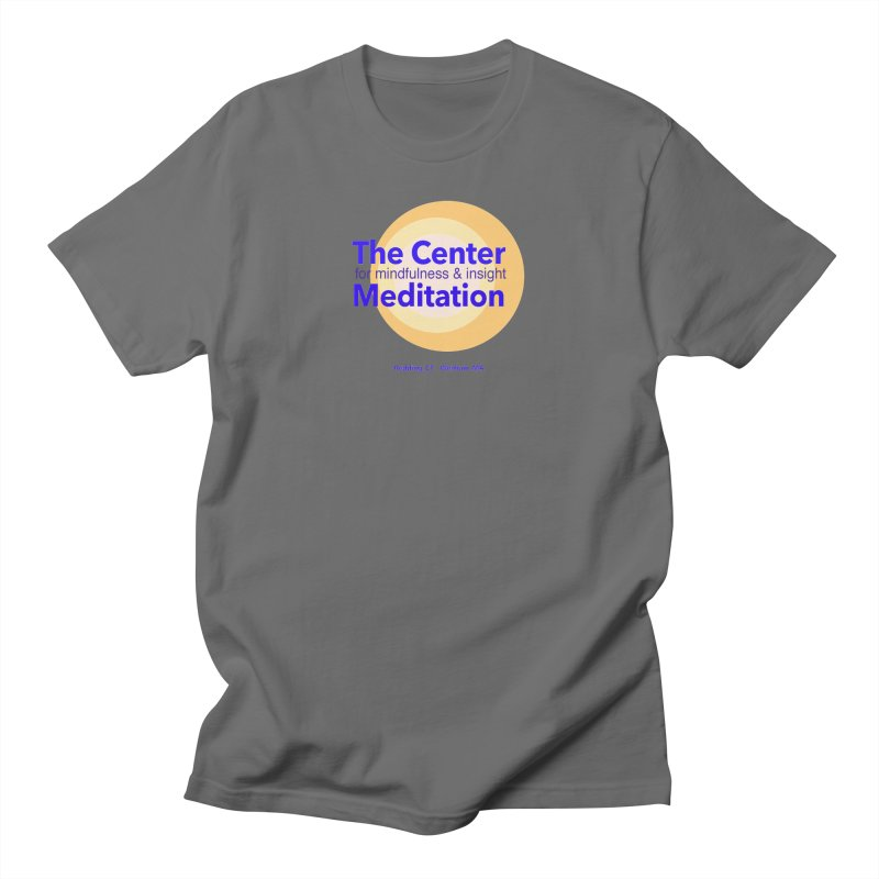 Centered Men's T-Shirt by Redding Meditation's Artist Shop