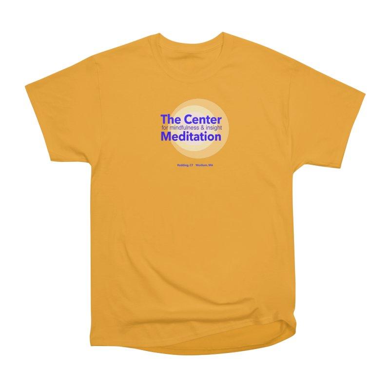 Centered Men's Heavyweight T-Shirt by Redding Meditation's Artist Shop