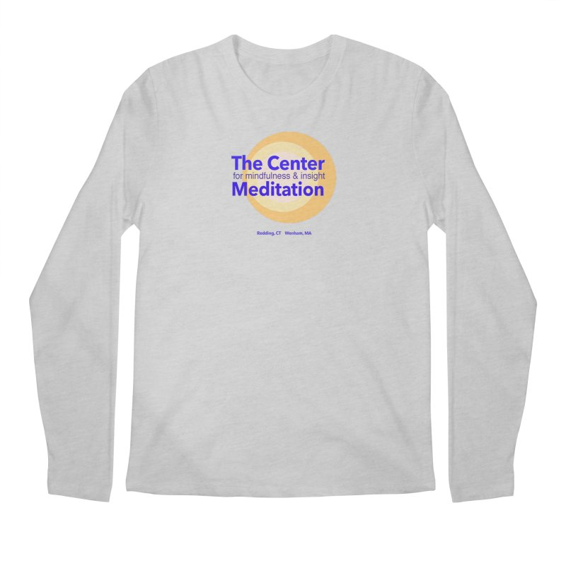 Centered Men's Regular Longsleeve T-Shirt by Redding Meditation's Artist Shop