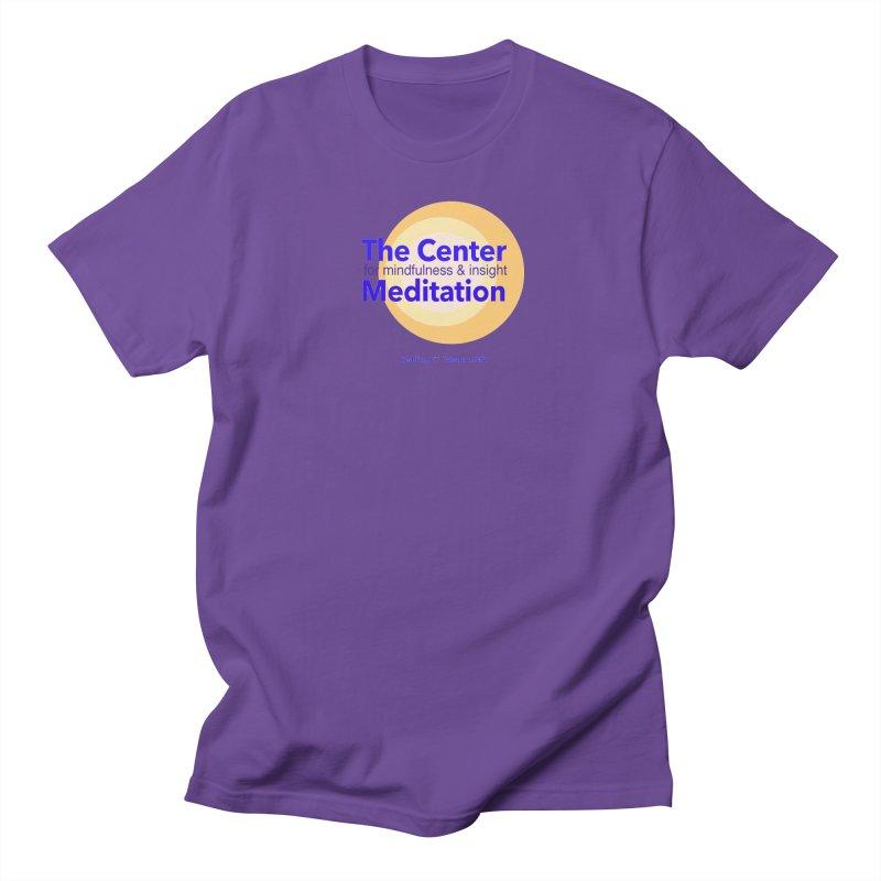 Centered Men's Regular T-Shirt by reddingmeditation's Artist Shop
