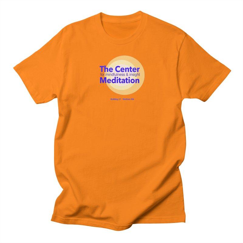 Centered Men's Regular T-Shirt by Redding Meditation's Artist Shop