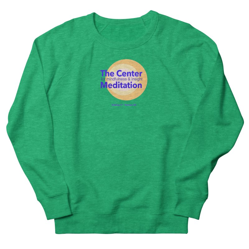 Centered Women's Sweatshirt by reddingmeditation's Artist Shop