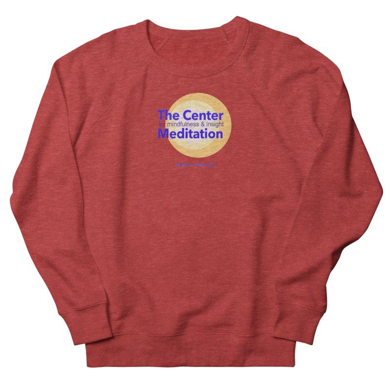 Centered Women's French Terry Sweatshirt by Redding Meditation's Artist Shop
