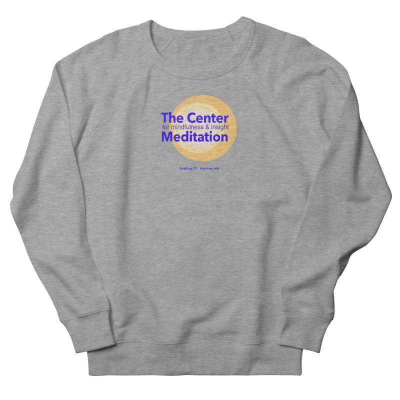 Centered Men's French Terry Sweatshirt by Redding Meditation's Artist Shop