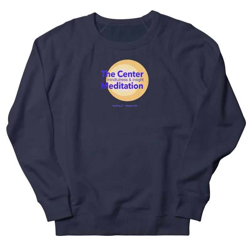 Centered Men's French Terry Sweatshirt by Redding Meditation's Artist Shop