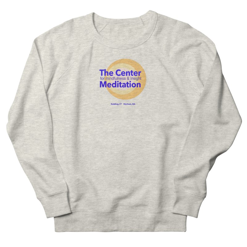 Centered Men's French Terry Sweatshirt by reddingmeditation's Artist Shop