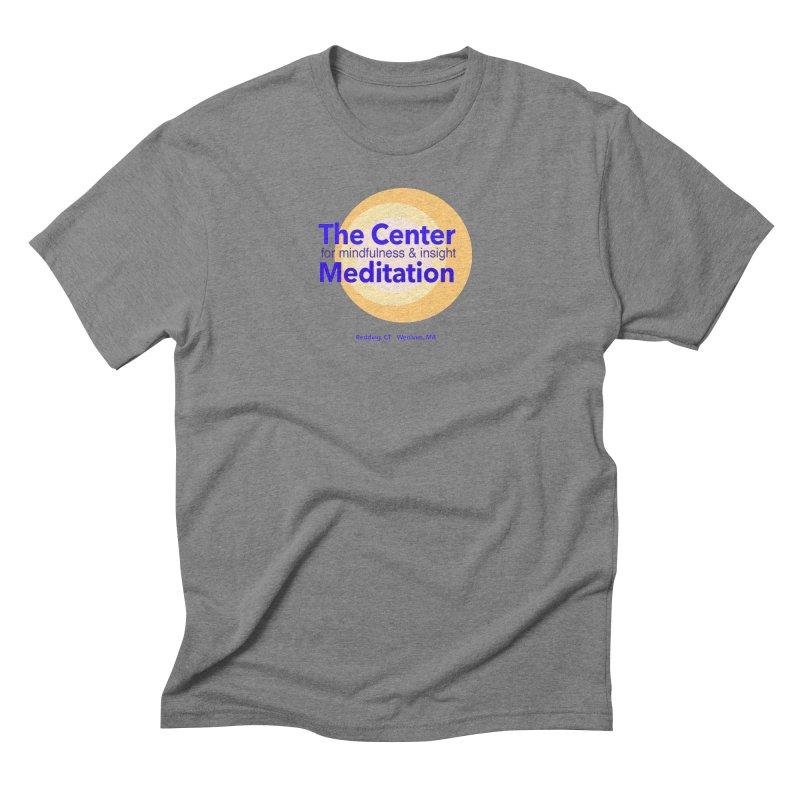 Centered Men's Triblend T-Shirt by reddingmeditation's Artist Shop