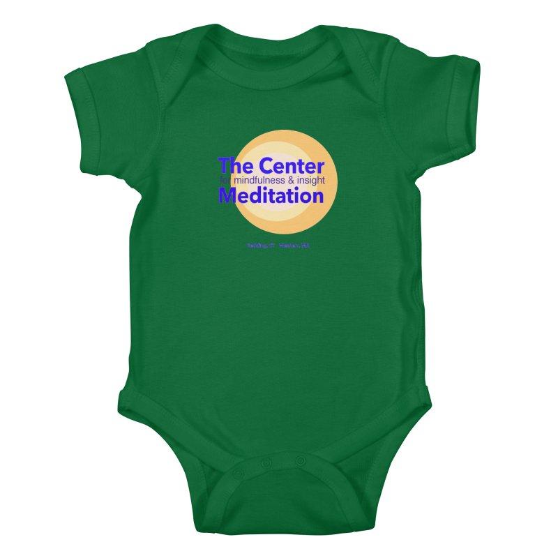 Centered Kids Baby Bodysuit by reddingmeditation's Artist Shop