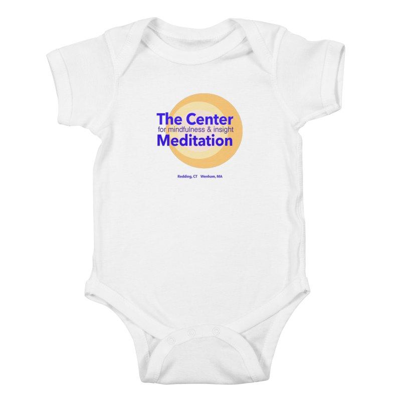 Centered Kids Baby Bodysuit by Redding Meditation's Artist Shop