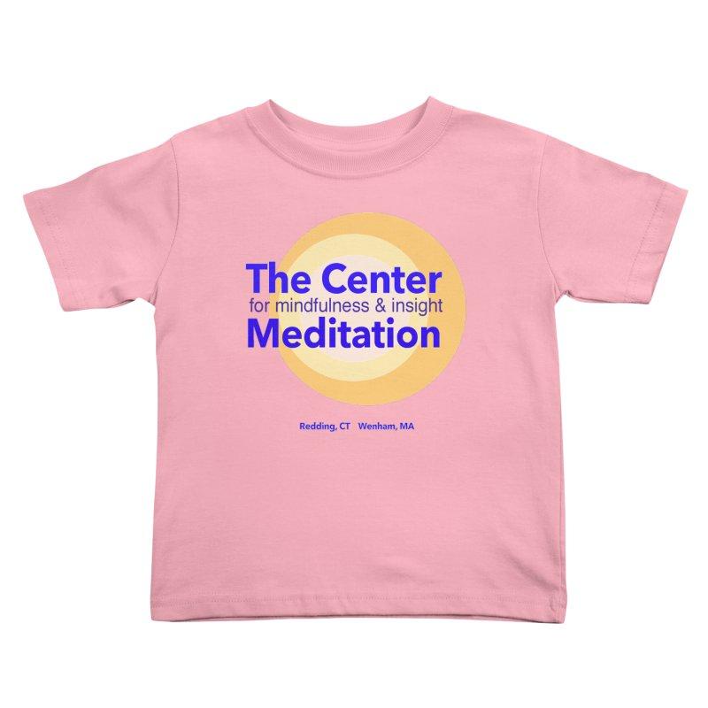 Centered Kids Toddler T-Shirt by Redding Meditation's Artist Shop