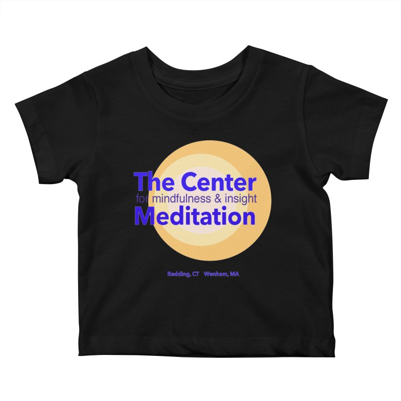 Centered Kids Baby T-Shirt by reddingmeditation's Artist Shop
