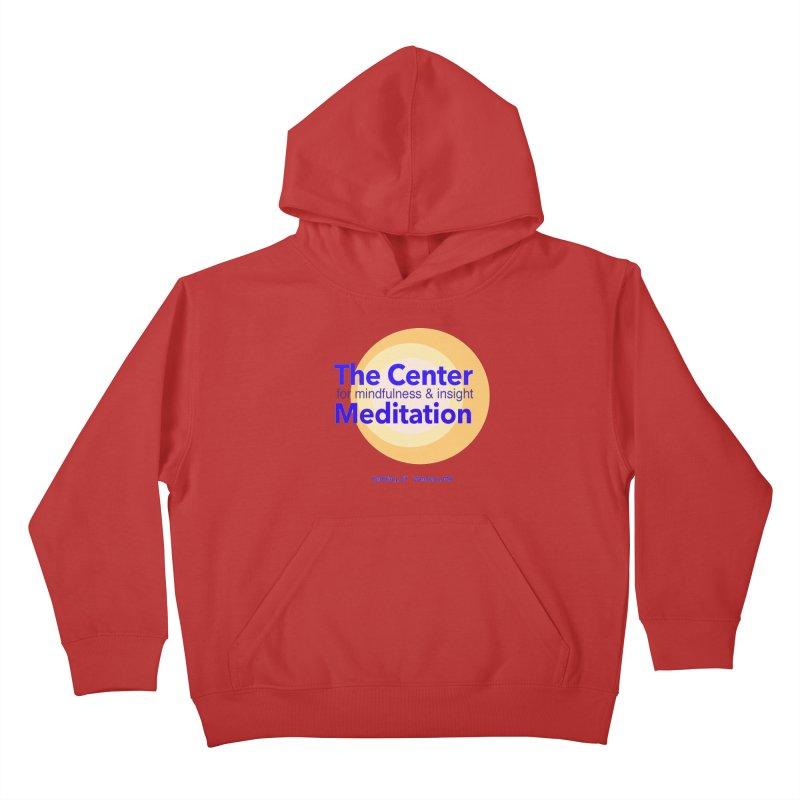 Centered Kids Pullover Hoody by reddingmeditation's Artist Shop