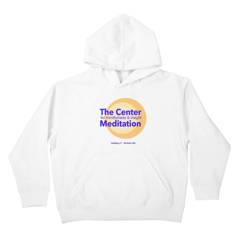 Centered Kids Pullover Hoody by Redding Meditation's Artist Shop