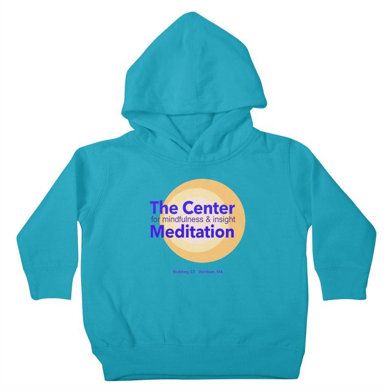 Centered Kids Toddler Pullover Hoody by reddingmeditation's Artist Shop