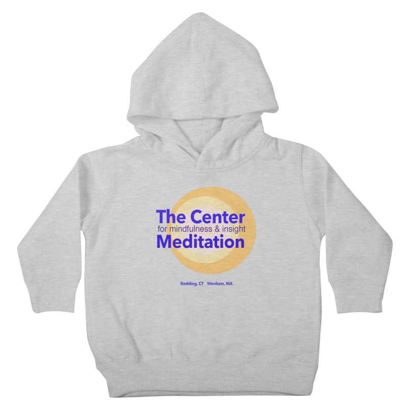 Centered Kids Toddler Pullover Hoody by reddingmeditation's Artist Shop