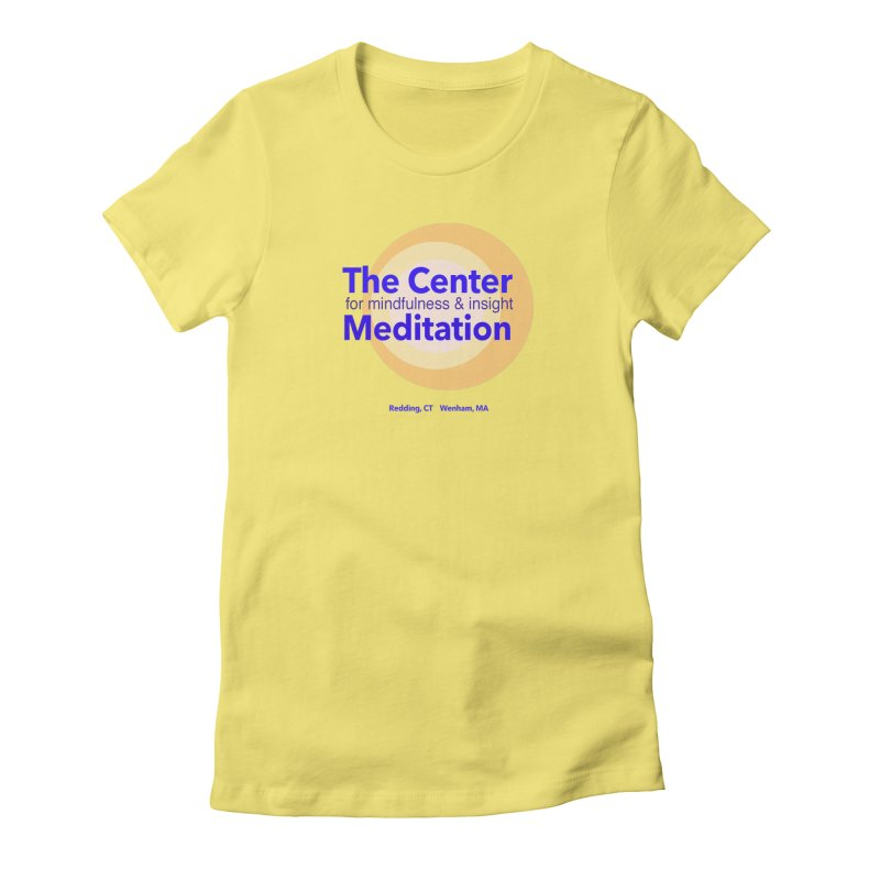 Centered Women's  by reddingmeditation's Artist Shop