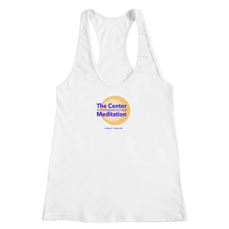 Centered Women's Racerback Tank by Redding Meditation's Artist Shop