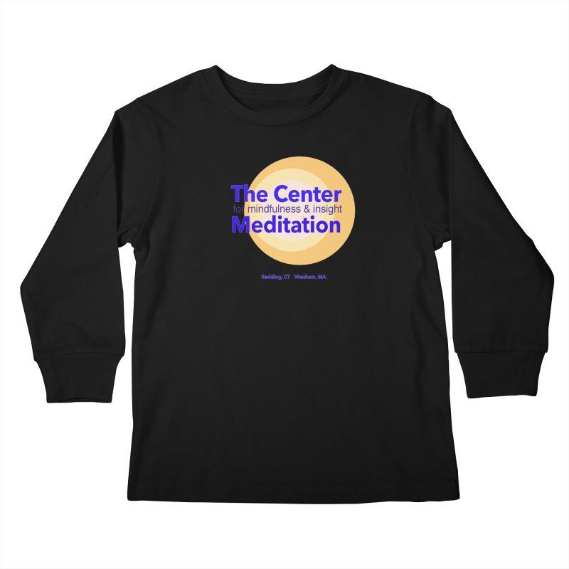 Centered Kids Longsleeve T-Shirt by reddingmeditation's Artist Shop