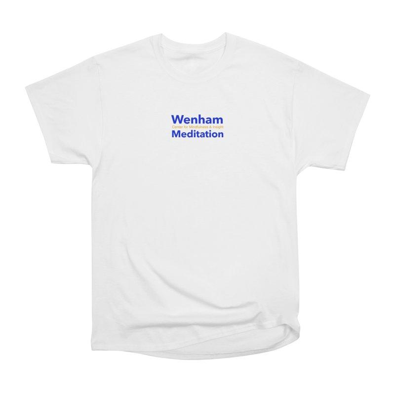 Wenham Wear 2 Men's Heavyweight T-Shirt by reddingmeditation's Artist Shop