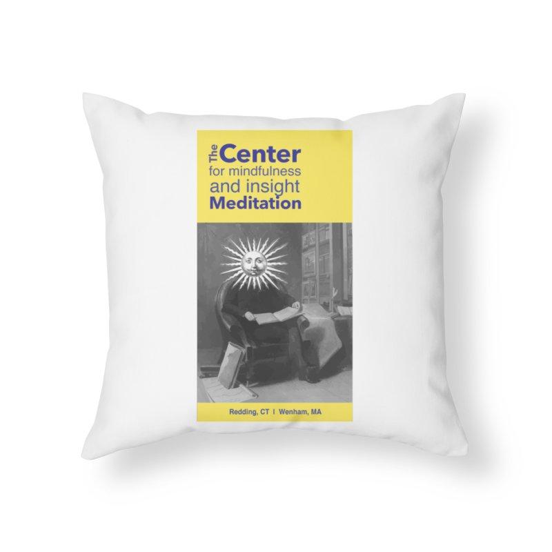 Mr. Sun Home Throw Pillow by Redding Meditation's Artist Shop