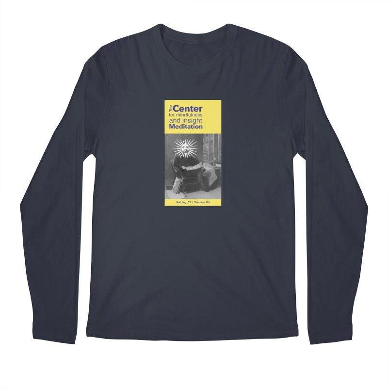 Mr. Sun Men's Regular Longsleeve T-Shirt by Redding Meditation's Artist Shop