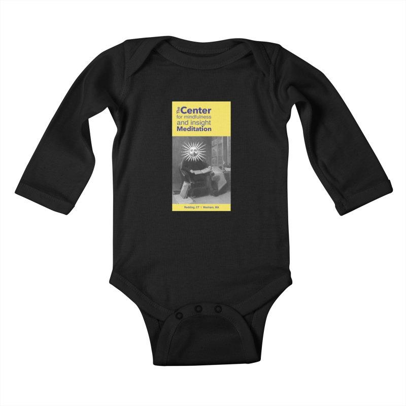 Mr. Sun Kids Baby Longsleeve Bodysuit by Redding Meditation's Artist Shop