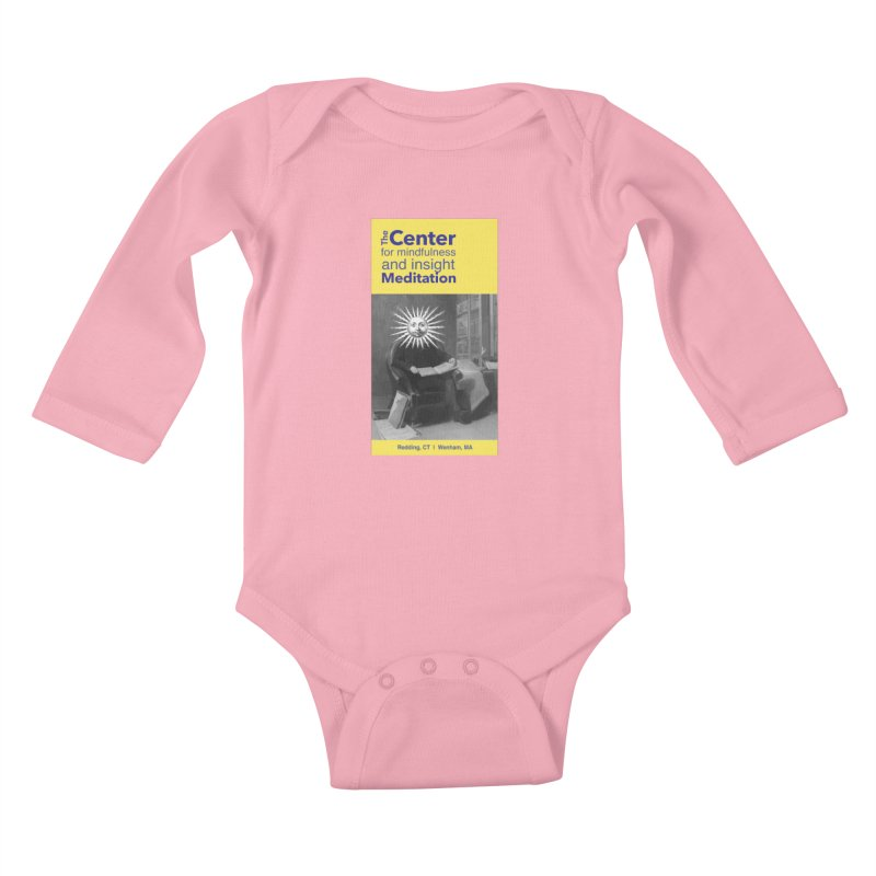 Mr. Sun Kids Baby Longsleeve Bodysuit by reddingmeditation's Artist Shop