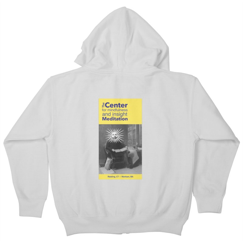 Mr. Sun Kids Zip-Up Hoody by reddingmeditation's Artist Shop